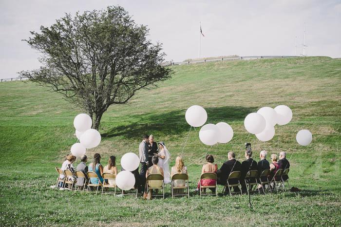 Wedding Ceremony Aisle Decorations Stars Hearts Pom Poms