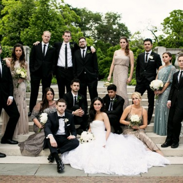 Traditional Greek + Jewish Wedding Goes Glam!
