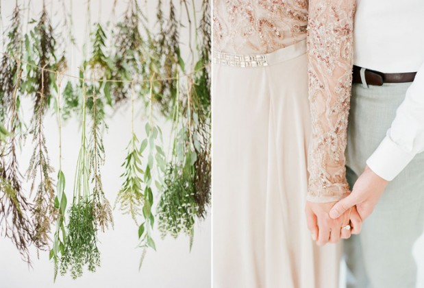 rustic_woodsy_green_wedding_blush_dress_2