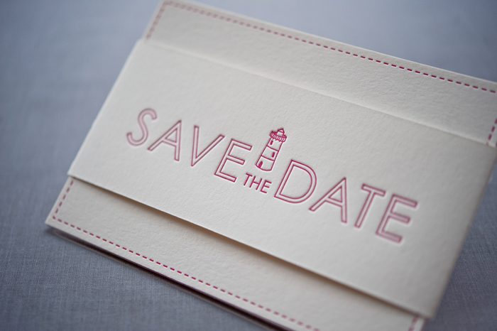 Wedding Blog Save the Dates from Gus & Ruby