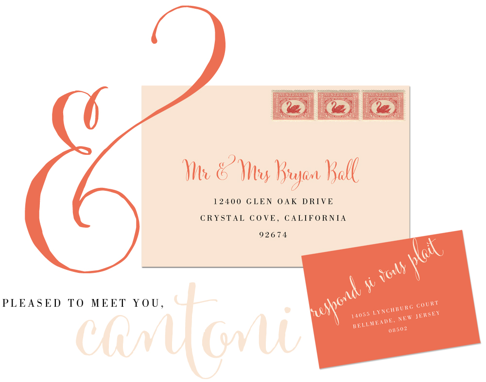 Wedding Blog Meet Cantoni!