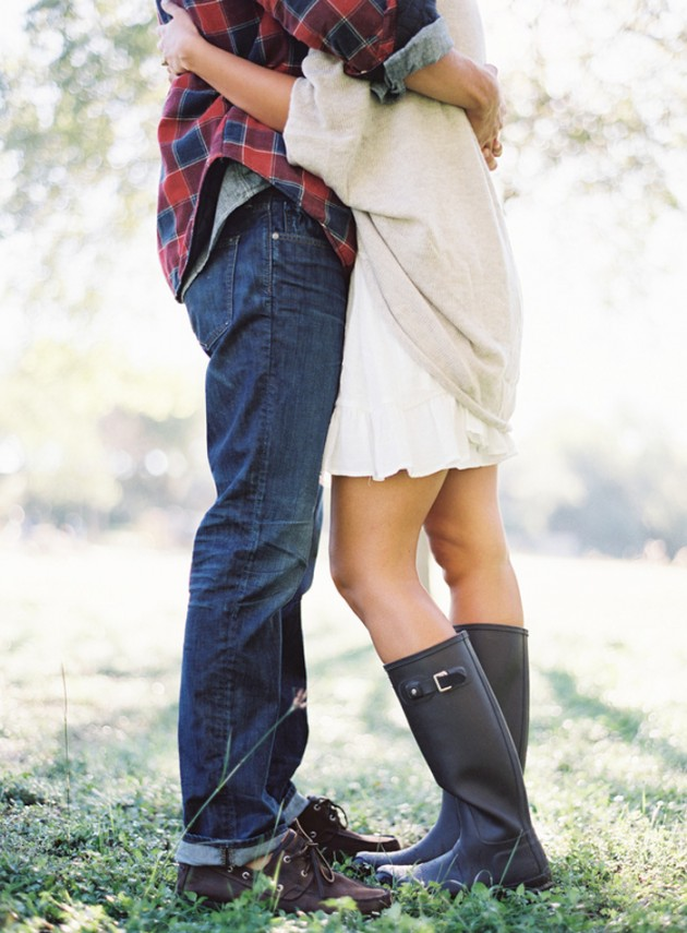 Wedding Blog Hunter Boots and a Bow Tied Puppy