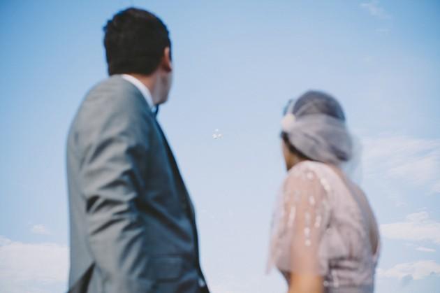 Wedding Blog A pink wedding dress