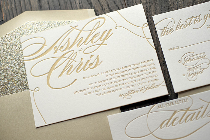 Wedding Blog Glam Stationery Giveaway