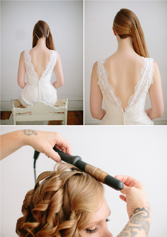 Wedding Blog Hollywood Waves DIY Hair Tutorial