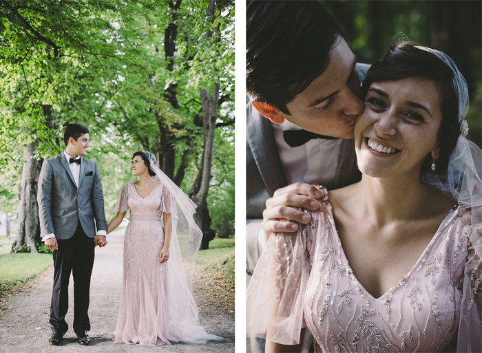 Wedding Blog A pink wedding dress