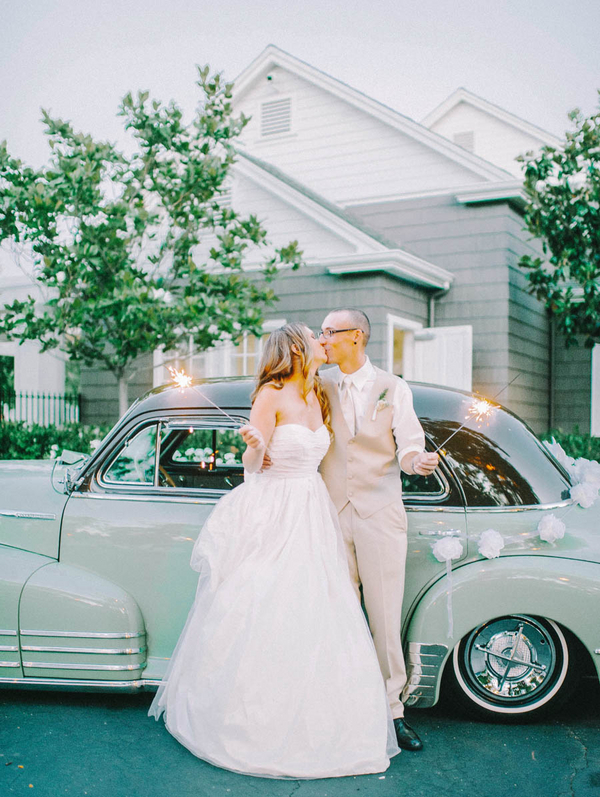 Wedding Blog Bridgeport Wedding (and the best sparkler photos ever!)