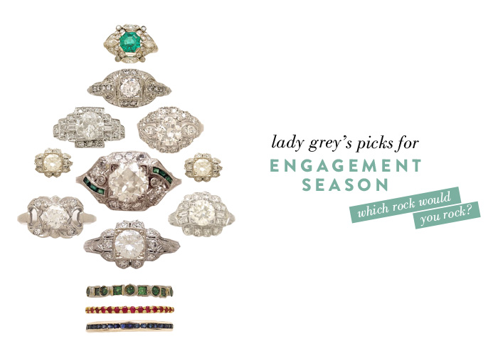 Wedding Blog Vintage Engagement Rings