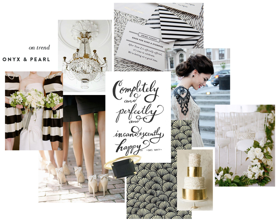 Wedding Blog Onyx & Pearl with Bride Mag