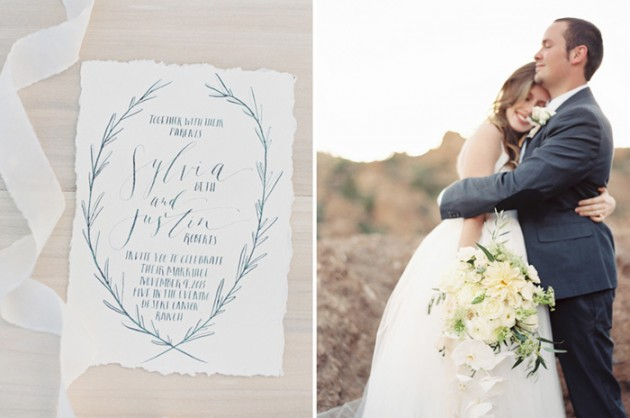 canyon-desert-white-green-wedding-ideas-calligraphy-stationery-invite-10