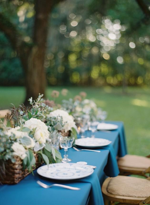 Wedding Blog Charleston Blue Inspiration at Fenwick Hall