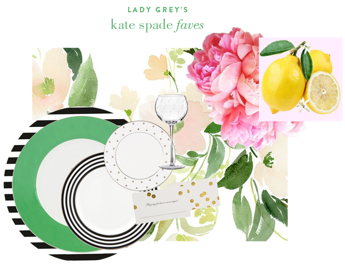 Wedding Blog Kate Spade Garden Party Essentials