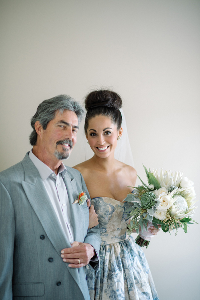 Wedding Blog How to Rock a Blue Wedding Gown!