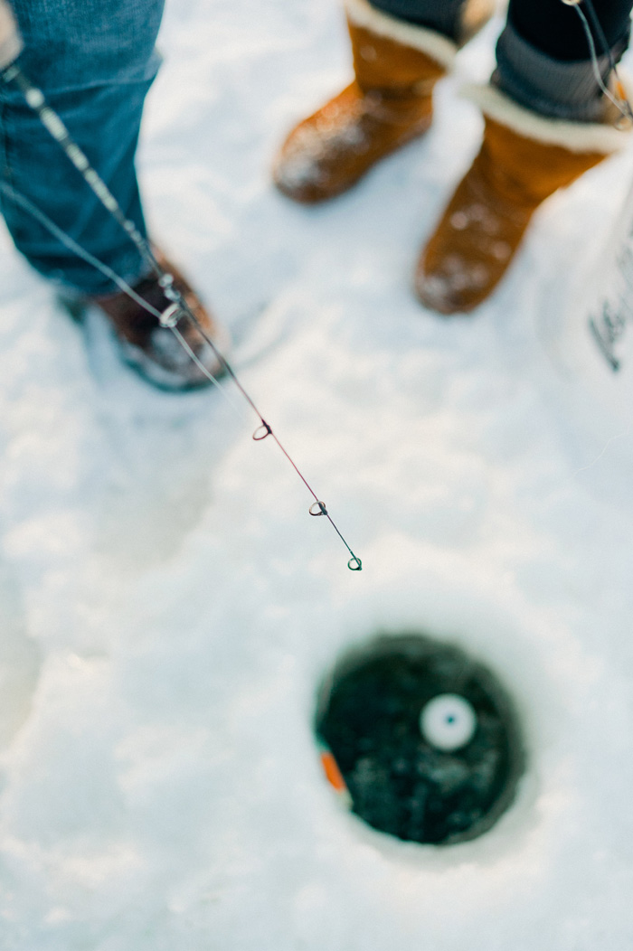 Wedding Blog Nick and Rachels Ice Fishing Adventure