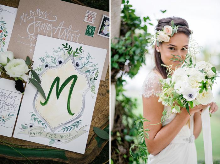 Wedding Blog Preppy Garden Romance!