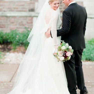 Ellen and Tom's Elegant Ballroom Wedding