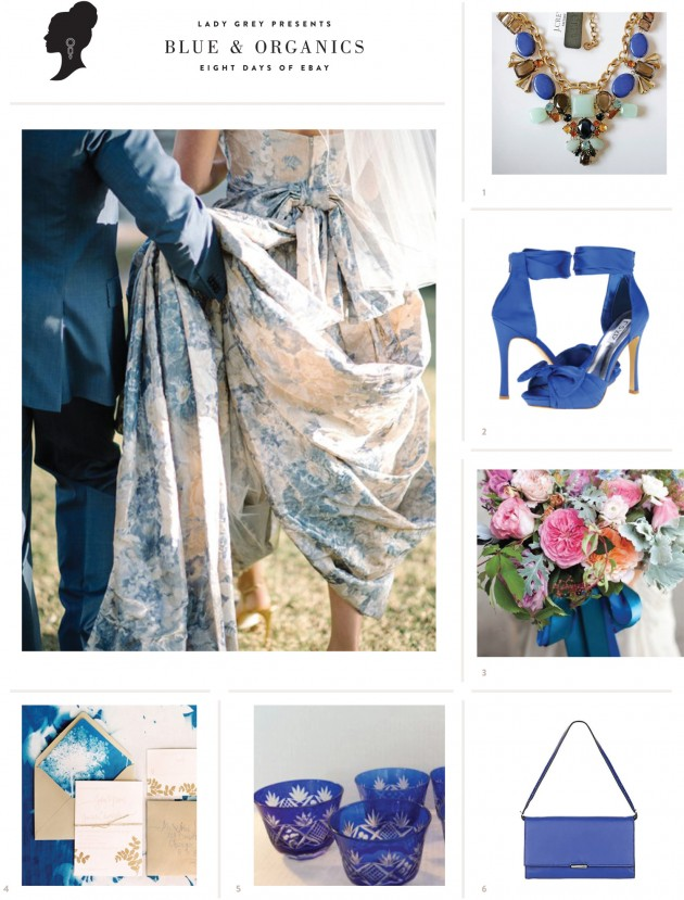 Wedding Blog Cobalt & Organics