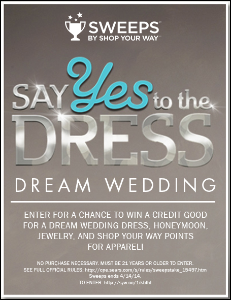 Wedding Blog Shop Your Way and TLCs Say Yes to the Dress