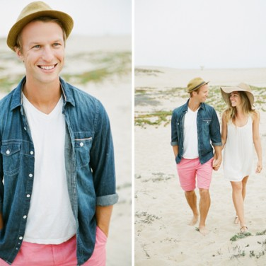 This Modern Romance Engagement Shoot