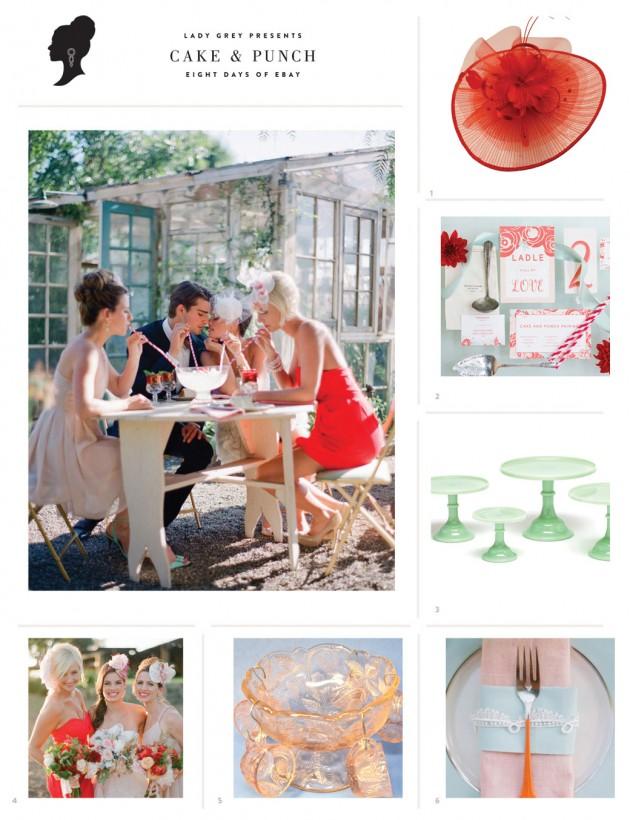 Wedding Blog Cake and Punch