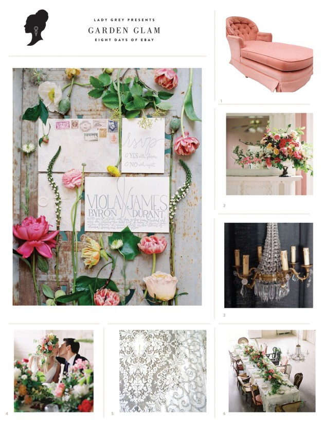 Wedding Blog Garden Glam