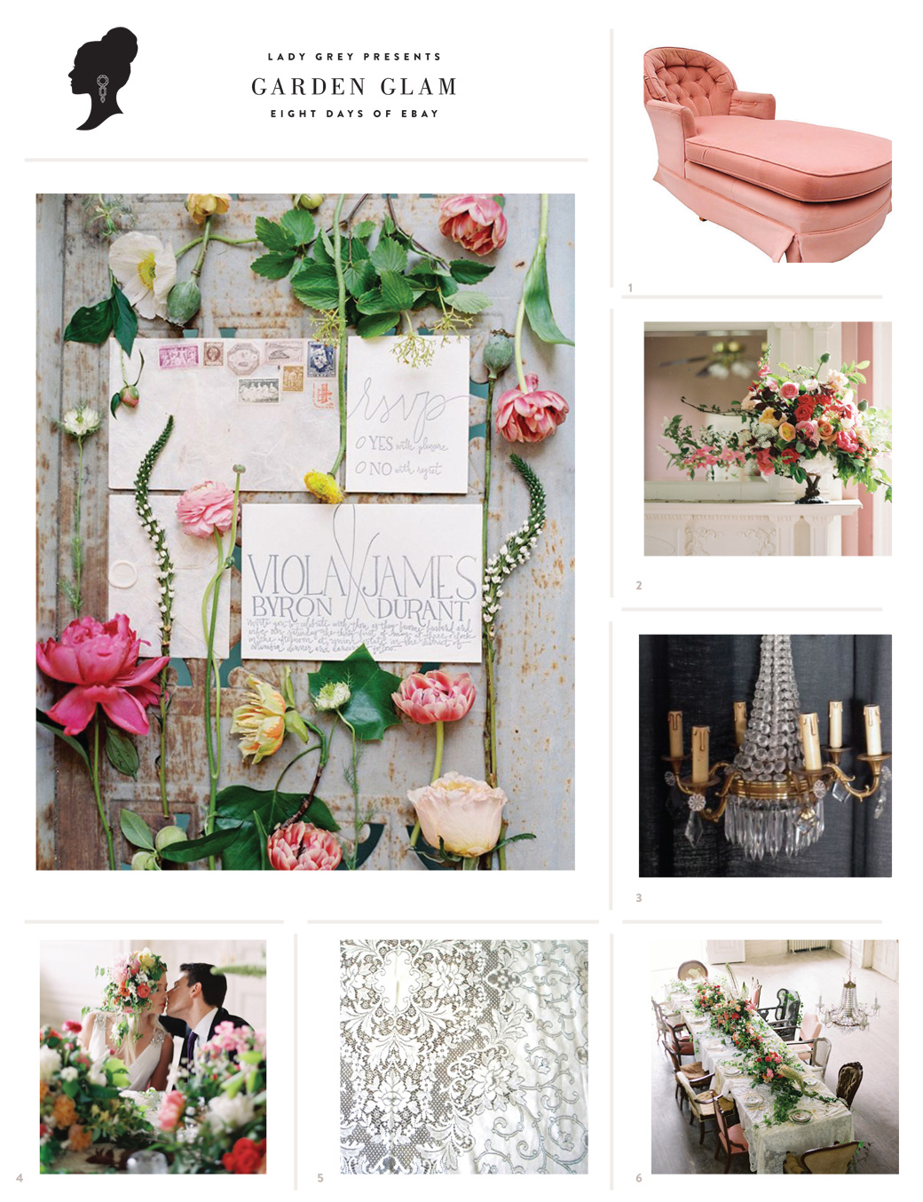 Wedding Blog Garden Glam