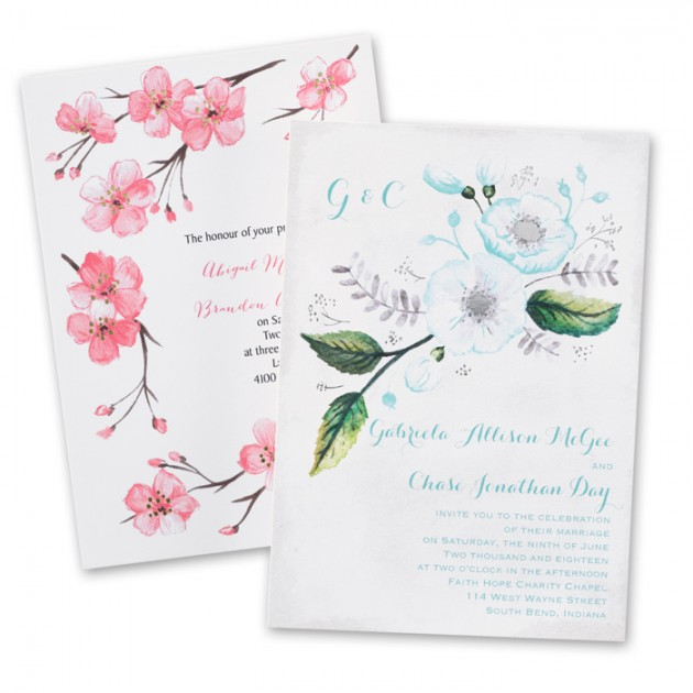 Wedding Blog Invitations by Dawn