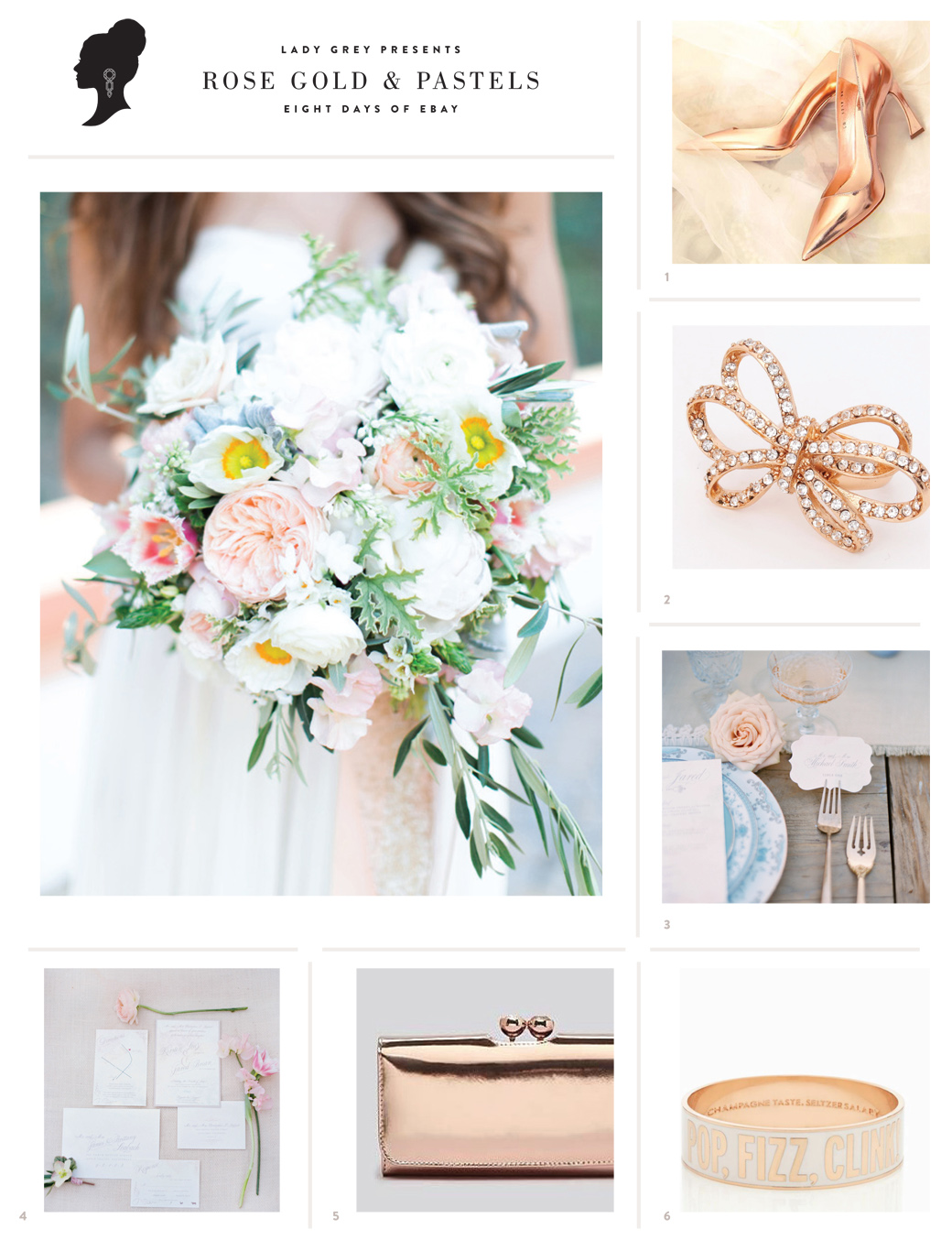 Wedding Blog Rose Gold Essentials
