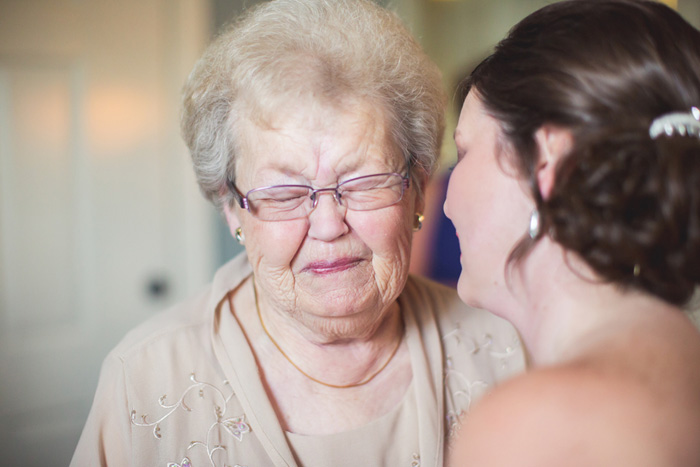 Wedding Blog Cori Johnson and Grandma