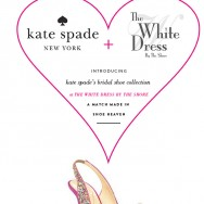The White Dress By The Shore + kate spade