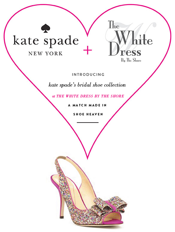 Wedding Blog The White Dress By The Shore + kate spade