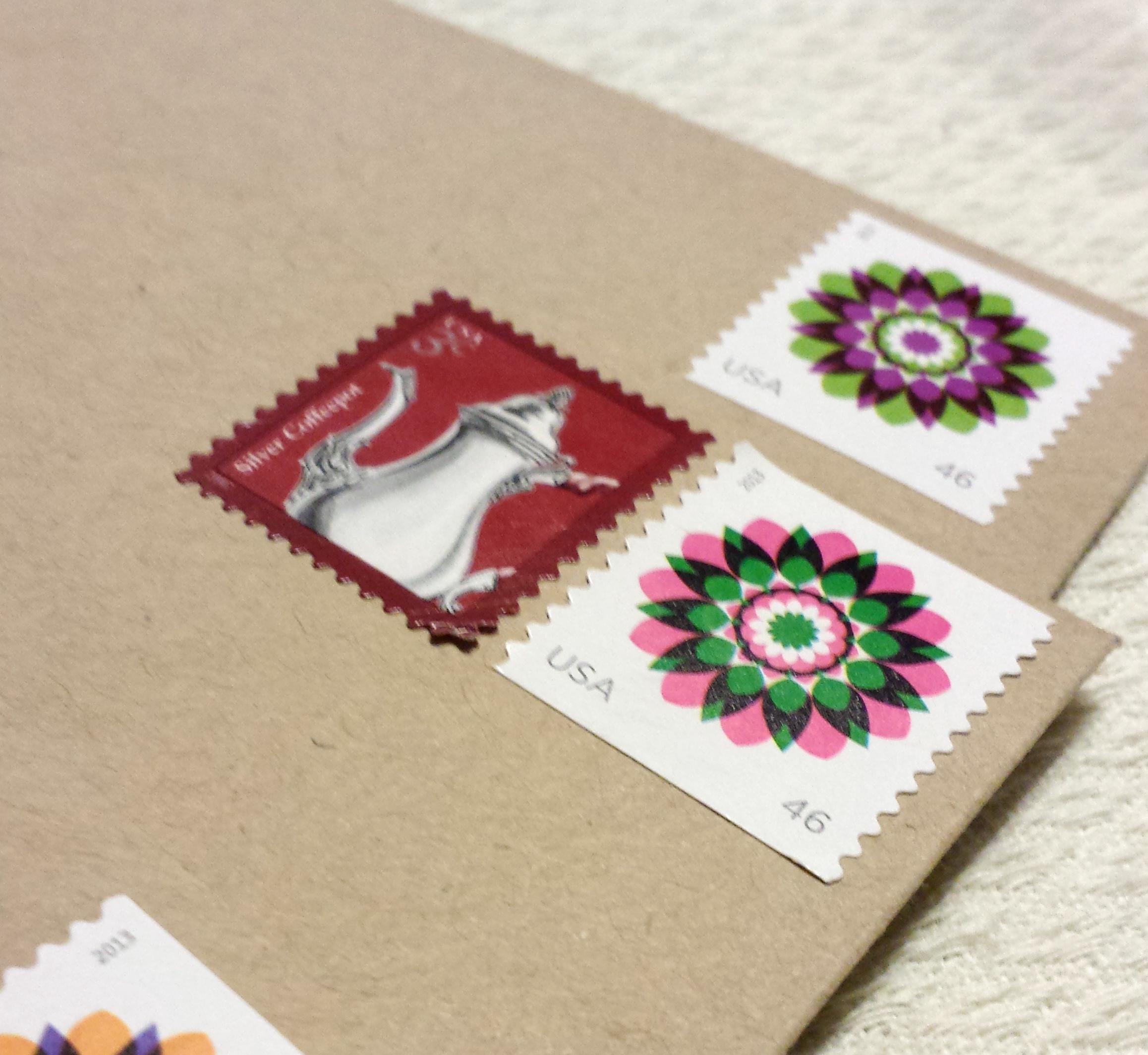 Invitation Postage | Best Wedding Blog | Grey Likes Weddings