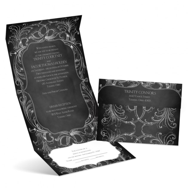 Wedding Blog Vintage Themed Wedding Invitations