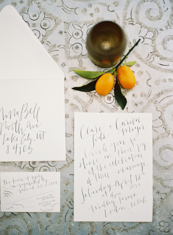 Wedding Blog Summer Citrus by Michael Radford