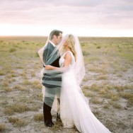 Dramatic Marfa Texas Wedding