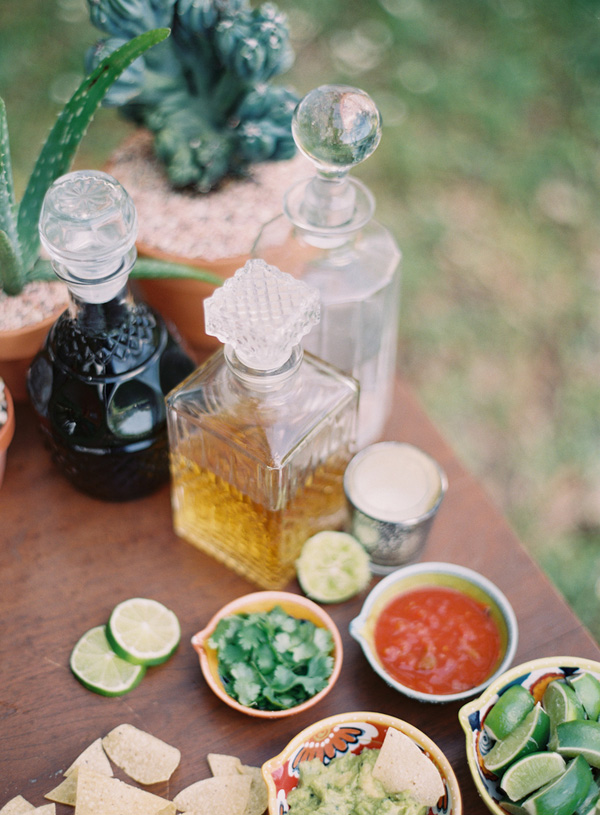 Wedding Blog Tequila and Salsa Tasting!