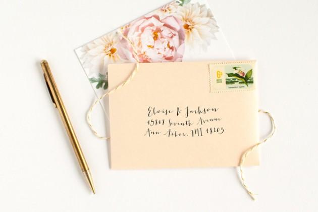 Wedding Blog Stationery Spotlight: Alisa Bobzien