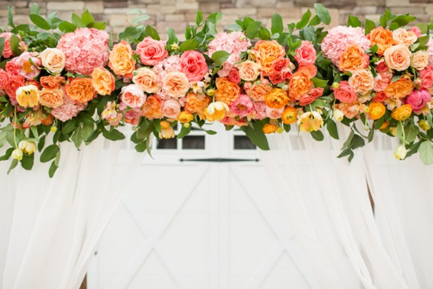 Wedding Blog Blush and Citrus Summer Inspiration