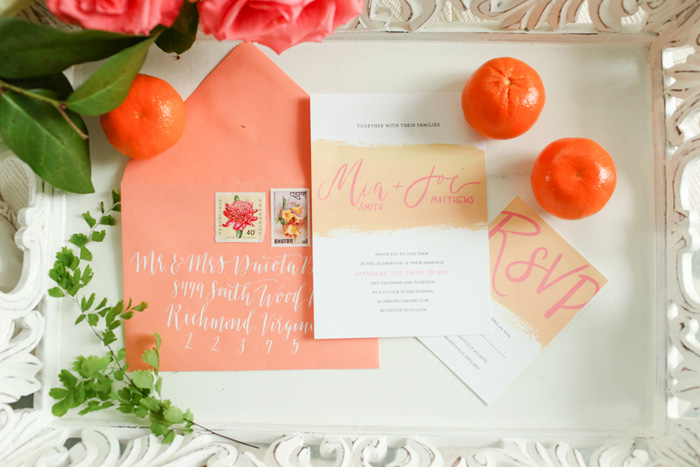 bright-orange-coral-pink-citrus-wedding-ideas-2