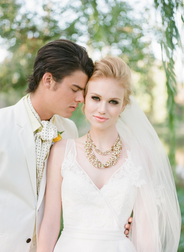 Wedding Blog Anna LePley Taylor Takes on Yellow, Gold, and Glam