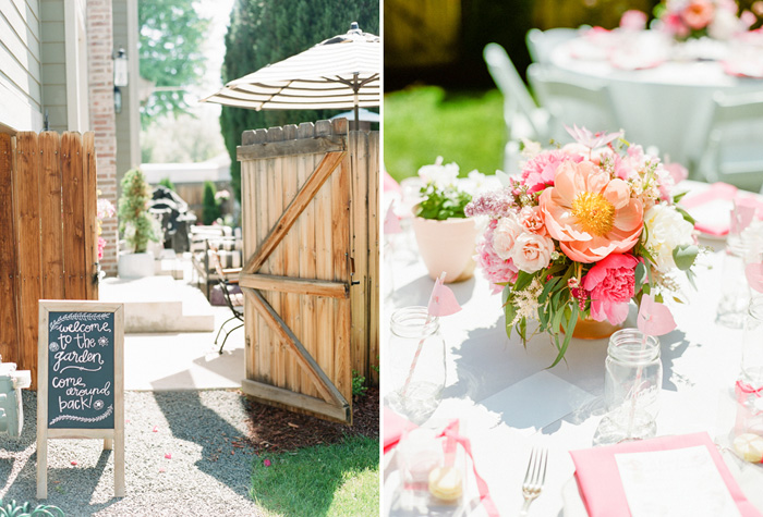 Wedding Blog Garden Party Bridal Shower by A Vintage Affair