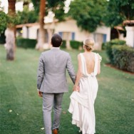 Citrus Inspired Destination Wedding at La Quinta Resort