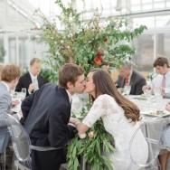Jayme and Josh's Rehearsal Dinner at Lycan Conservatory