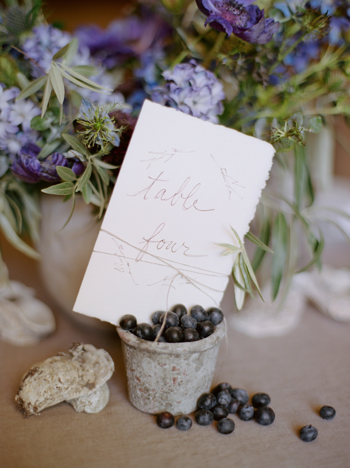 Wedding Blog Blueberries and Oyster Shells: Seaside Inspiration