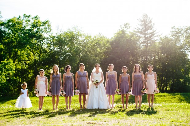 bridal party straight legged