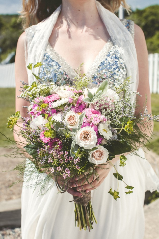 Wedding Blog Boho Glam Wedding on Cape Cod