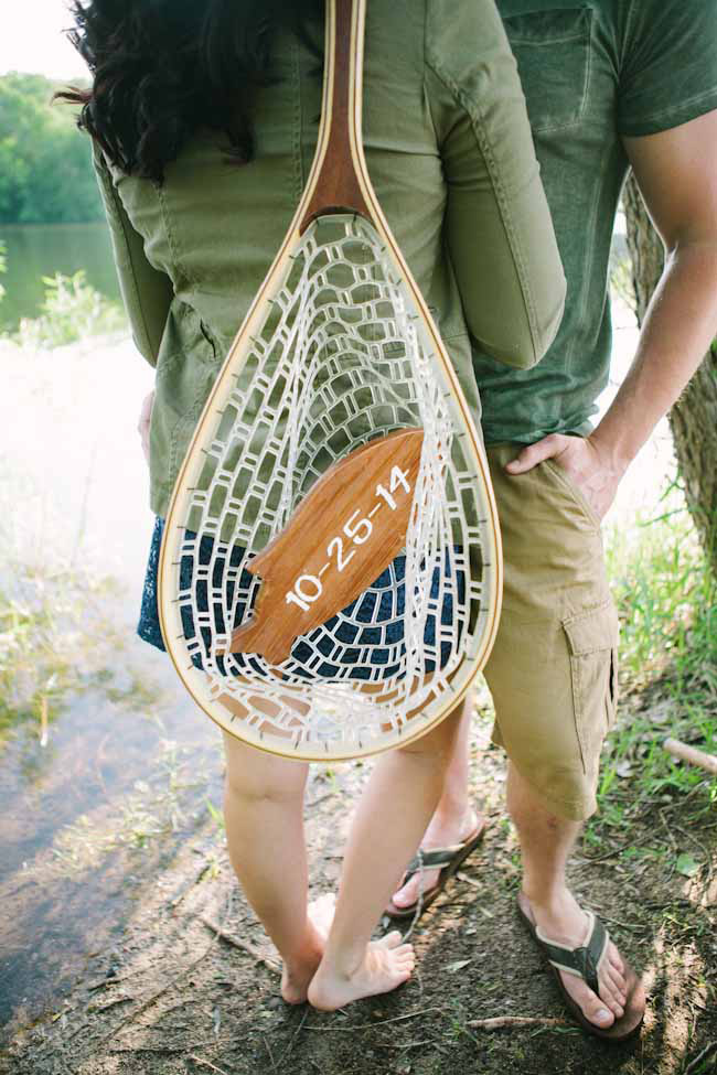 Wedding Blog Fishing Adventure Engagement