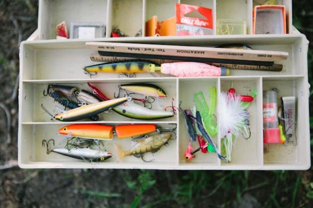 Wedding Blog Fishing Adventure Engagement