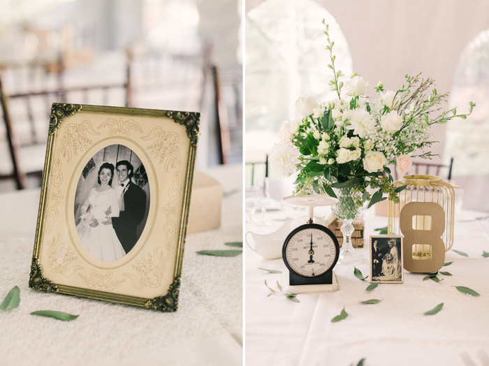Wedding Blog Heirloom Inspired Black and White Wedding