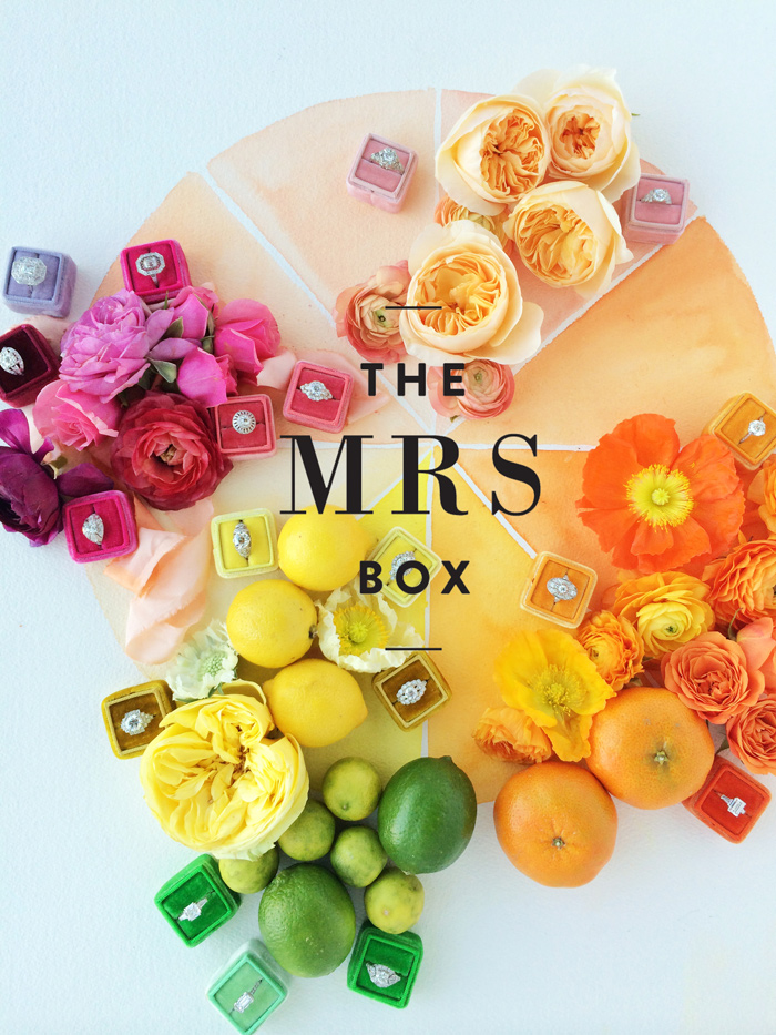 Wedding Blog Introducing The Mrs. Box
